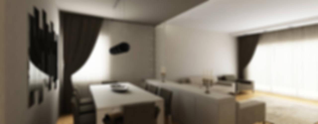 E.E. EVİ Modern Yemek Odası Niyazi Özçakar İç Mimarlık Modern