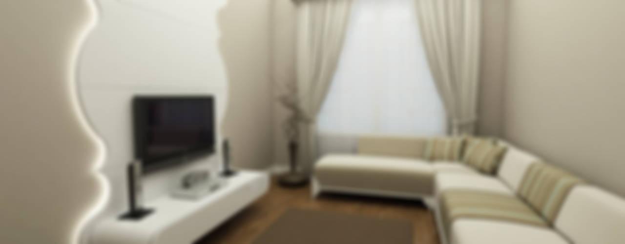 SANABEL KONAKLARI Modern Oturma Odası Niyazi Özçakar İç Mimarlık Modern
