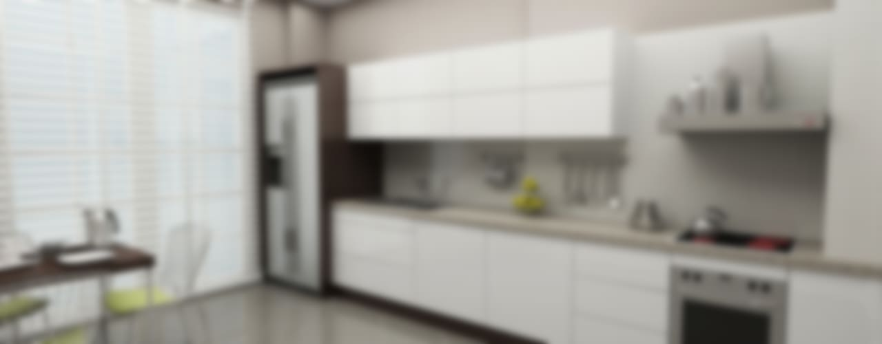 Niyazi Özçakar İç Mimarlık 現代廚房設計點子、靈感&圖片