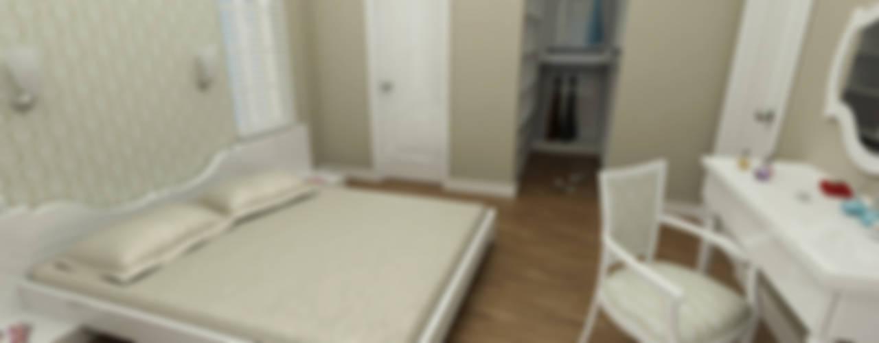 Niyazi Özçakar İç Mimarlık – SANABEL KONAKLARI:  tarz Yatak Odası