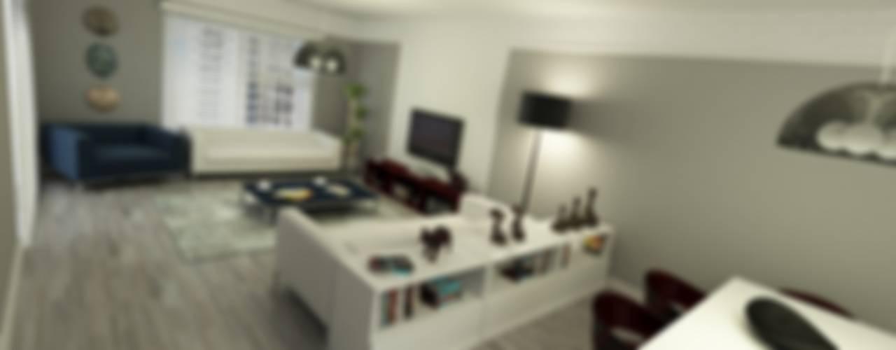 METROKENT BURSA 3+1 Modern Oturma Odası Niyazi Özçakar İç Mimarlık Modern