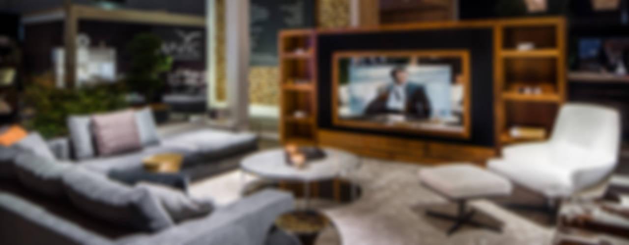 Livings de estilo  por B&G Audio Video Solutions BV