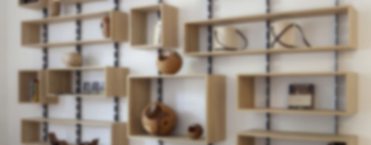 703 Soggiorno in stile scandinavo di SLOW WOOD - The Wood Expert Scandinavo