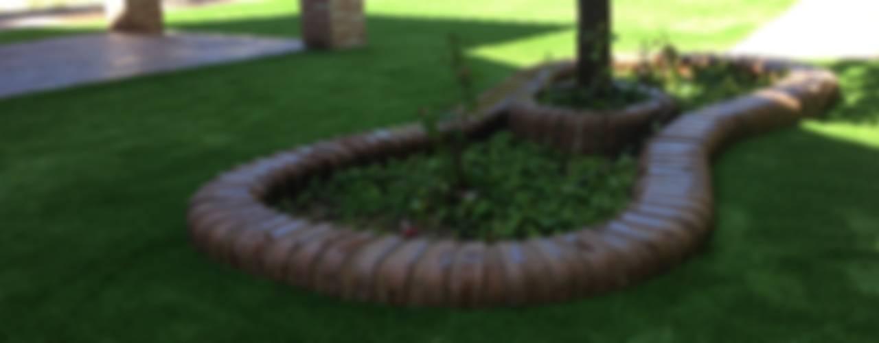 Jardines de estilo moderno de Allgrass Solutions Moderno