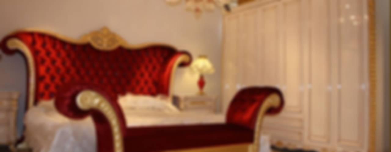 PRENSES KLASİK YATAK ODASI Klasik Yatak Odası Asortie Mobilya Dekorasyon Aş. Klasik