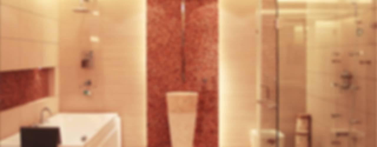 Stunning bathroom:  Bathroom by home makers interior designers & decorators pvt. ltd.