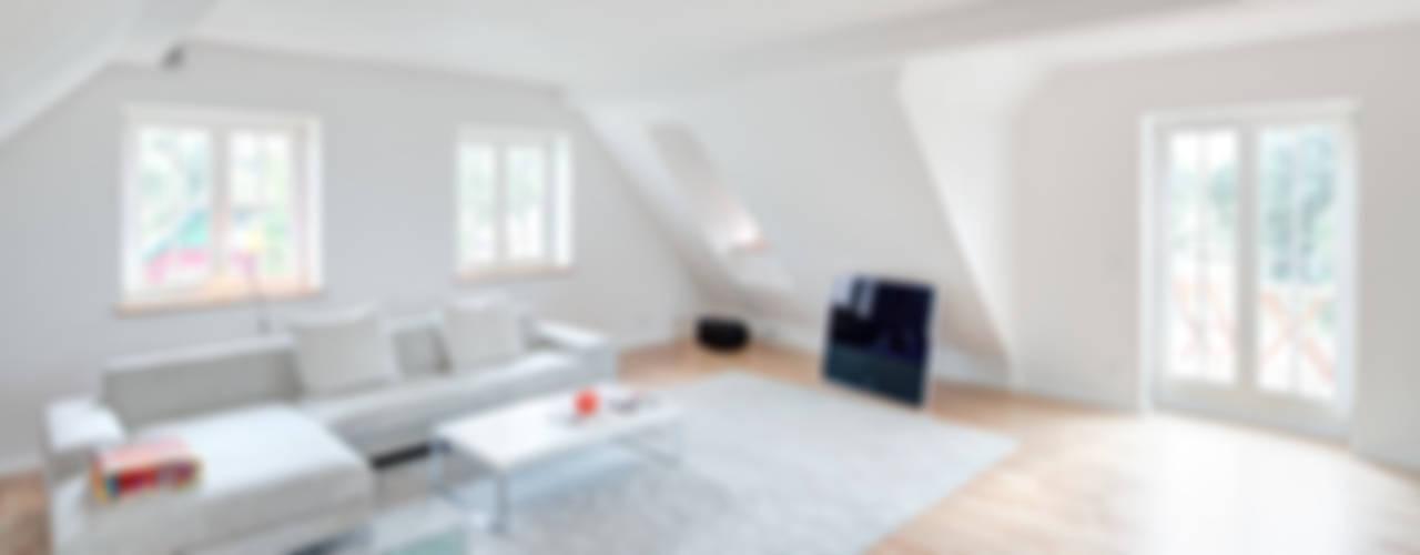 Rekonstruktion Kapitänshaus Born/Ostsee Klassische Wohnzimmer von Dr. Michael Flagmeyer Architekten Klassisch