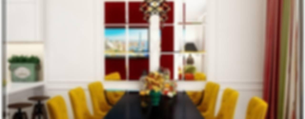 """Краснодар  ЖК """"Новый город""""  """"Вспоминая Барселону"""" 2014: Столовые комнаты в . Автор – Студия дизайна Светланы Исаевой"""