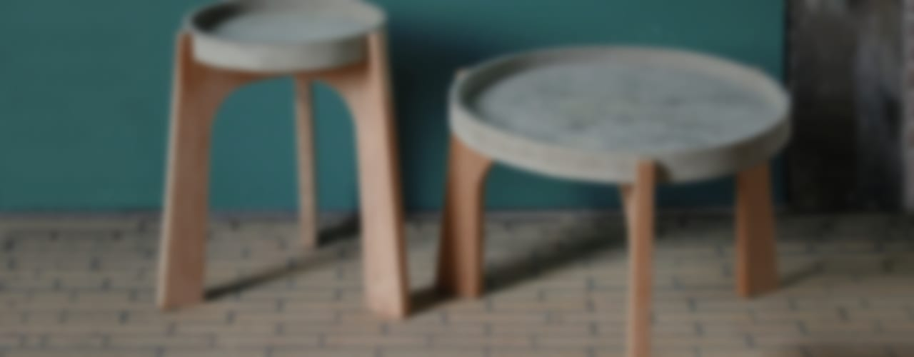 TABLES:   door RENATE VOS product & interior design