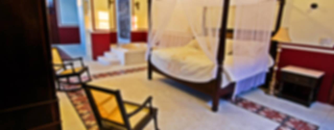 Colonial style bedroom by Arturo Campos Arquitectos Colonial