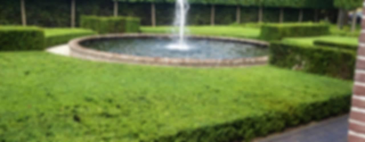Landschappelijke tuin met Wellness:   door Stam Hoveniers,