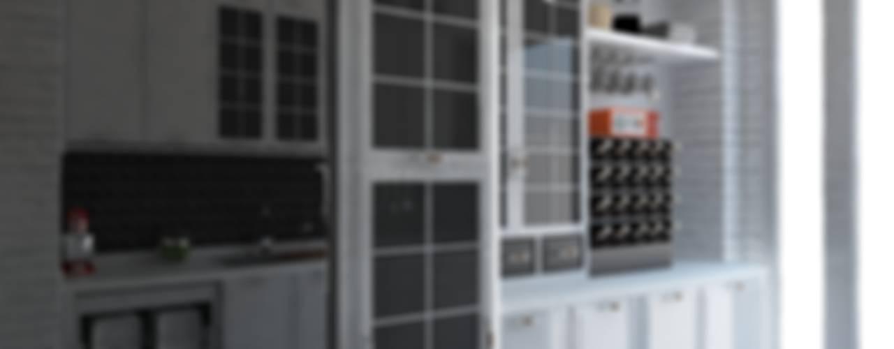GN İÇ MİMARLIK OFİSİ – Dumankaya halkalı Mutfak Dekorasyonu :  tarz ,