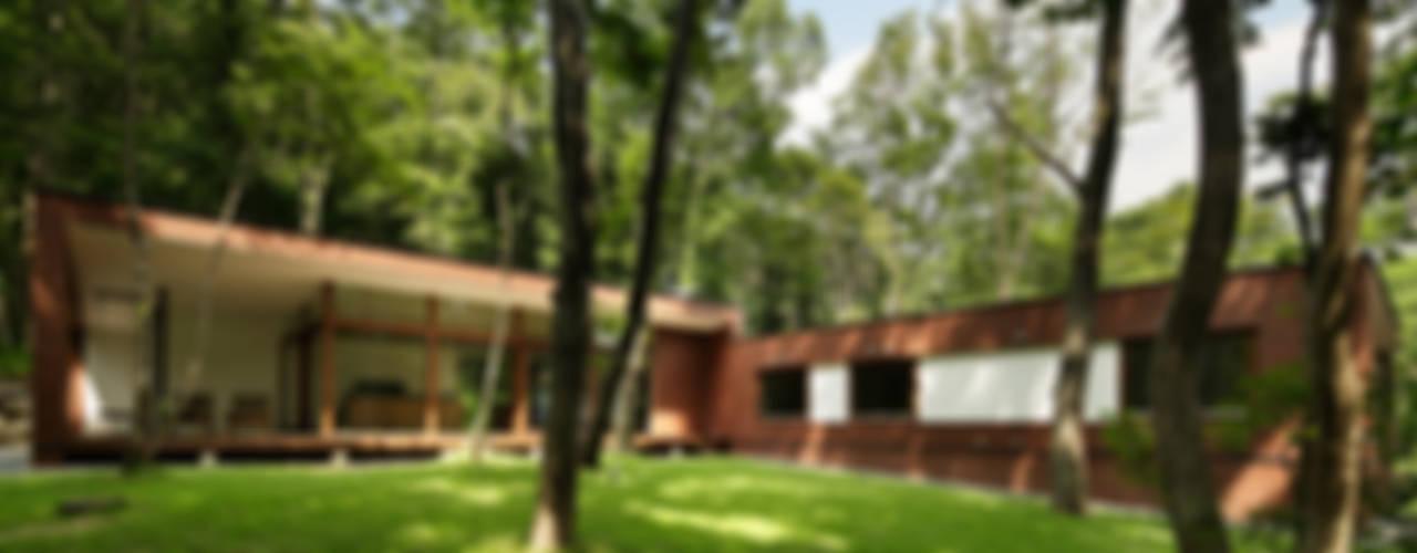 029那須Hさんの家 北欧風 庭 の atelier137 ARCHITECTURAL DESIGN OFFICE 北欧