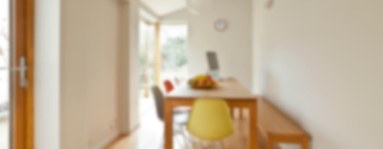 House remodelling in South Bristol Dittrich Hudson Vasetti Architects Modern dining room