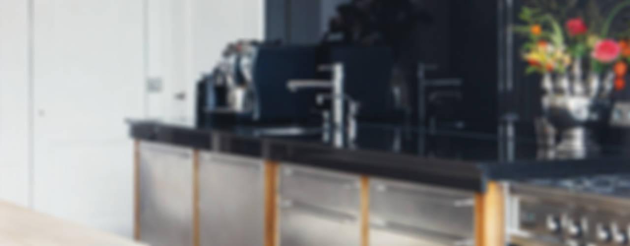 herenhuis in haarlem Eclectische keukens van choc studio interieur Eclectisch