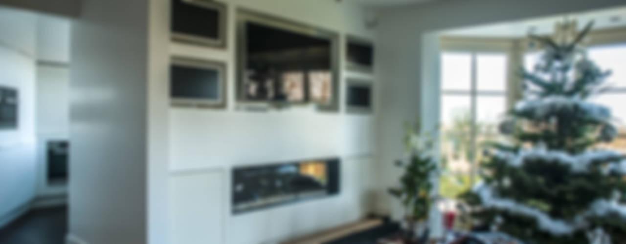 Modern Multimedya Odası Alewaters & Zonen Modern