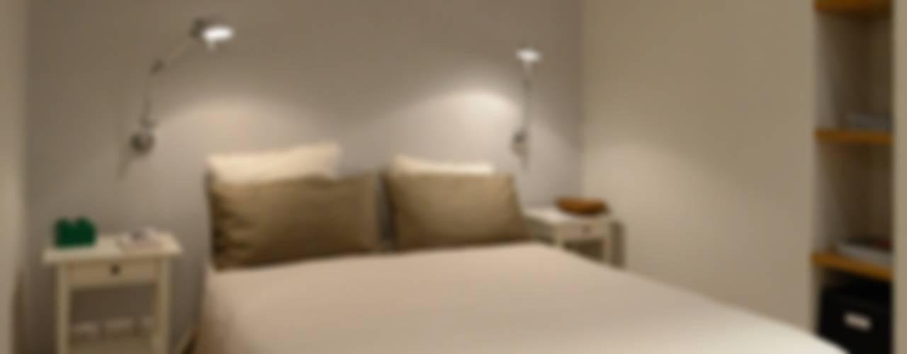 Quartos minimalistas por ministudio architetti Minimalista