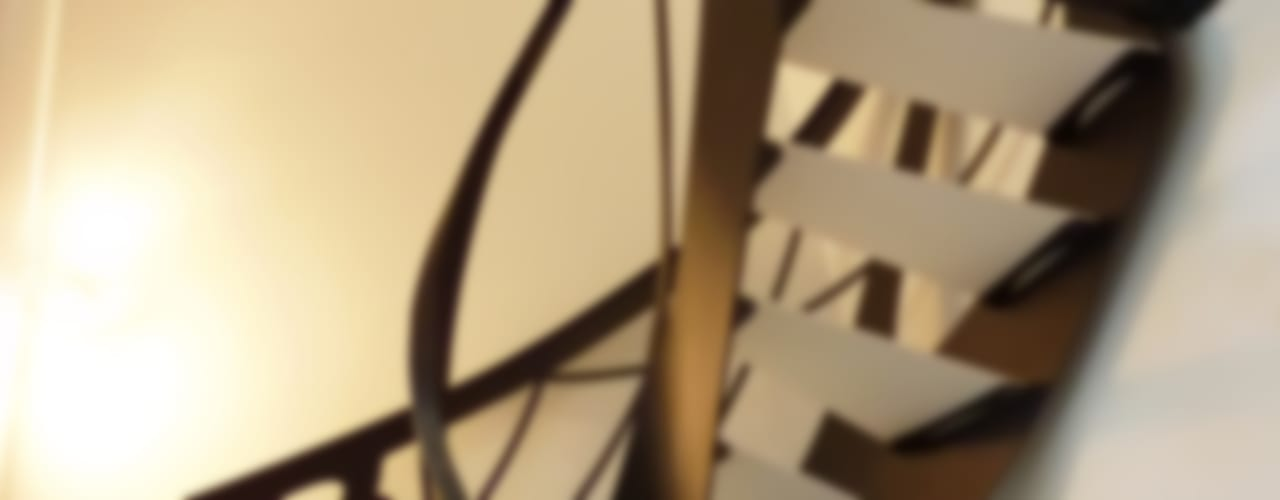 Escalier design débillardé Art Nouveau par La Stylique Éclectique