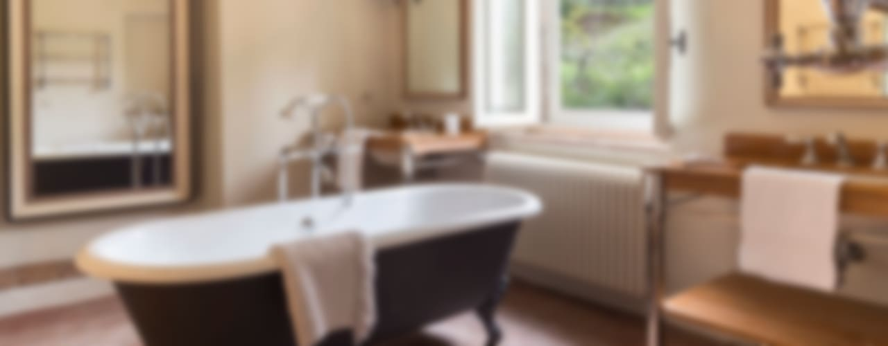 Baños de estilo rústico de Arlene Gibbs Décor Rústico