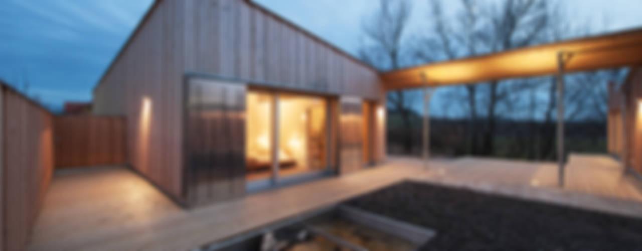 Projekty,  Domy zaprojektowane przez Abendroth Architekten, Nowoczesny