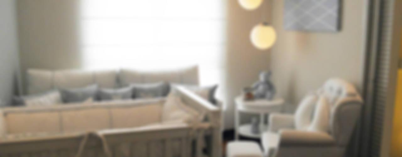 Mundo Azul: Quartos de bebê  por Lígia Bisconti
