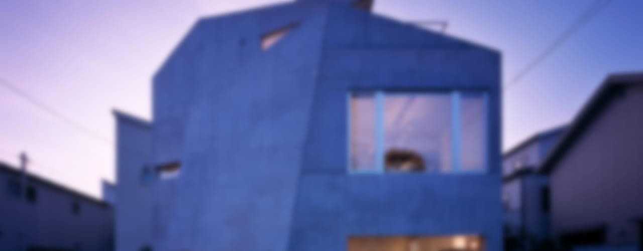 caverna オリジナルな 家 の 筒井紀博空間工房/KIHAKU tsutsui TOPOS studio オリジナル