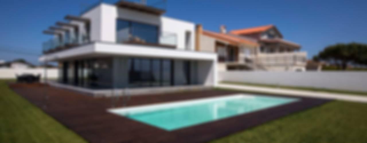 Casa VA Casas modernas por Atelier d'Arquitetura Lopes da Costa Moderno