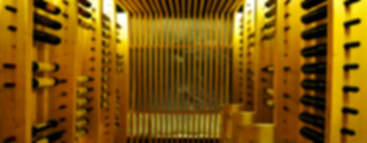B14 Bodegas de estilo moderno de BONBA studio Moderno