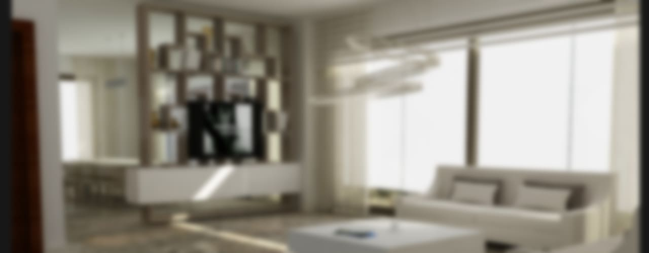 غرفة المعيشة تنفيذ Archidecors