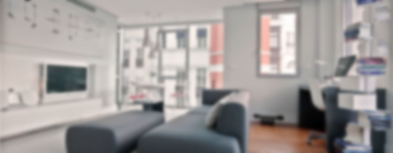 Salas / recibidores de estilo  por Urbana Interiorismo