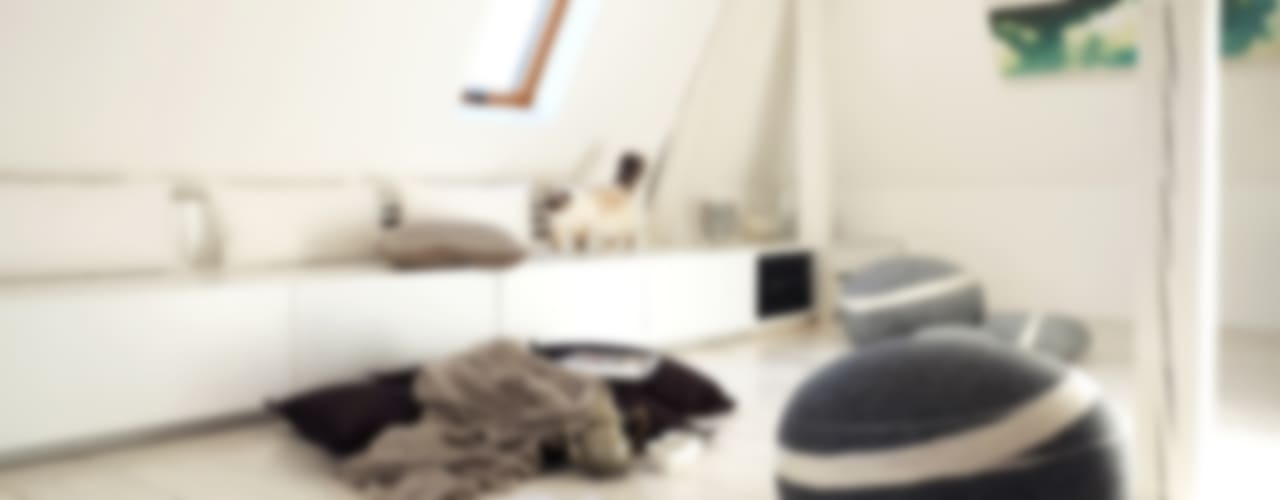 Ausbau Dachgeschoss im denkmalgeschützen Altbau: modern  von InteriorPark.,Modern
