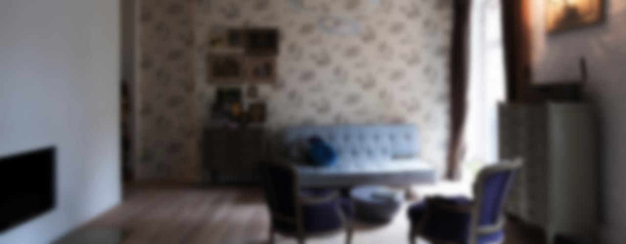 Eclectische woonkamers van spreeformat architekten GmbH Eclectisch