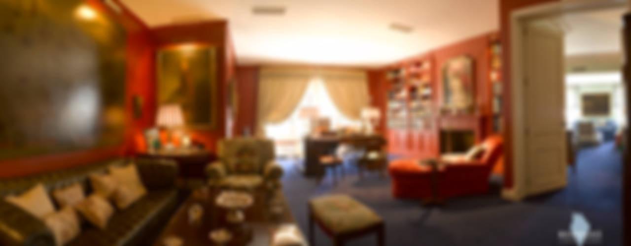 Ático en Paseo de la Castellana Bernadó Luxury Houses Estudios y despachos de estilo clásico