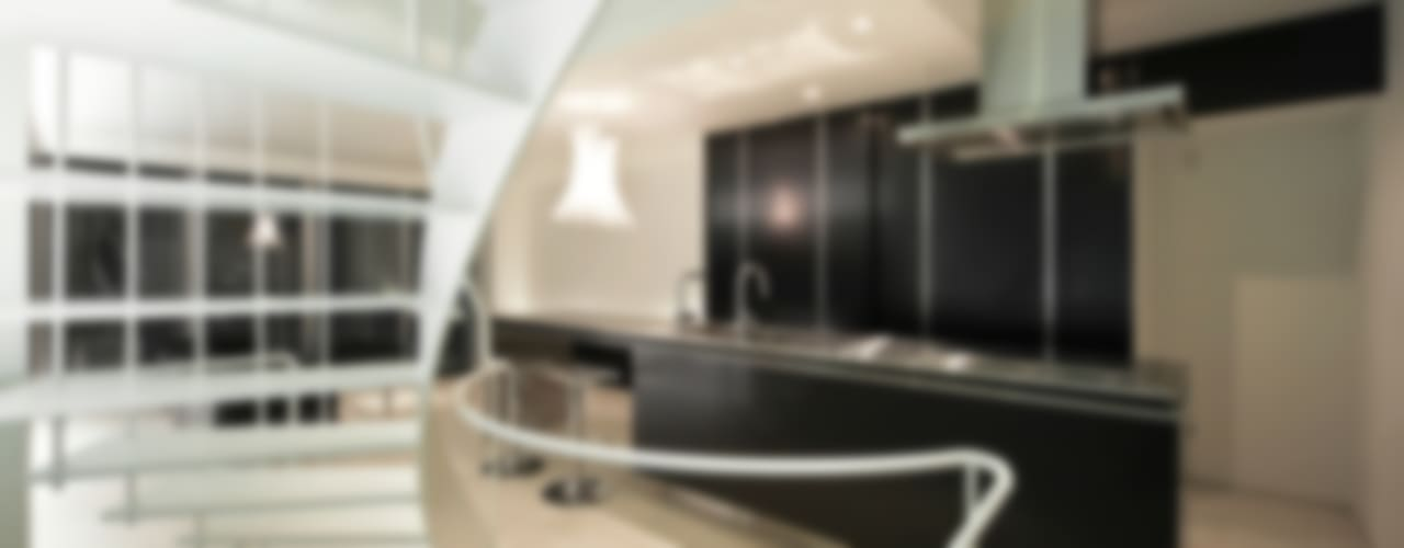 湯里の家 オリジナルデザインの キッチン の 岩井文彦建築研究所 オリジナル