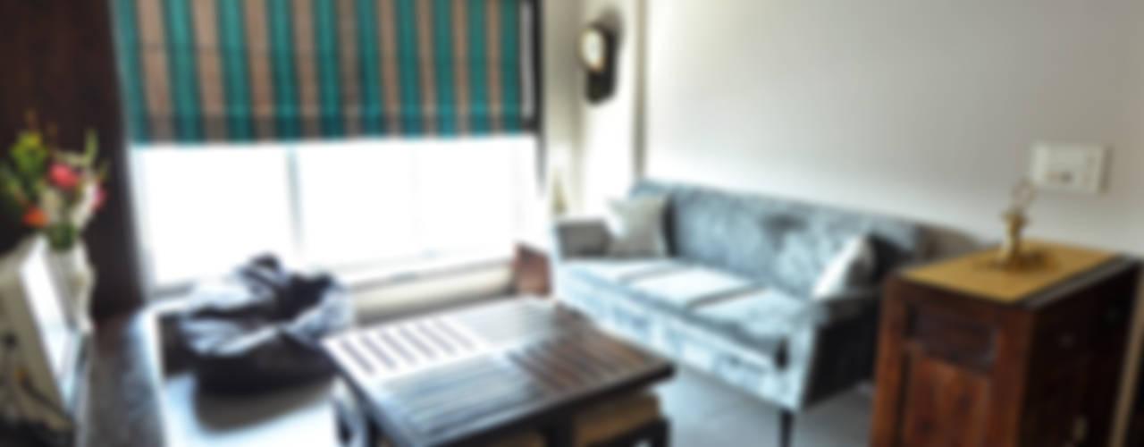 Salas / recibidores de estilo  por Dhruva Samal & Associates,