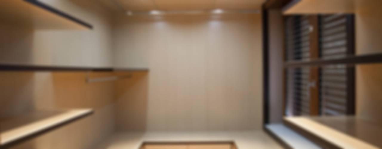 APPARTAMENTO Spogliatoio moderno di Architetto del Piano Moderno