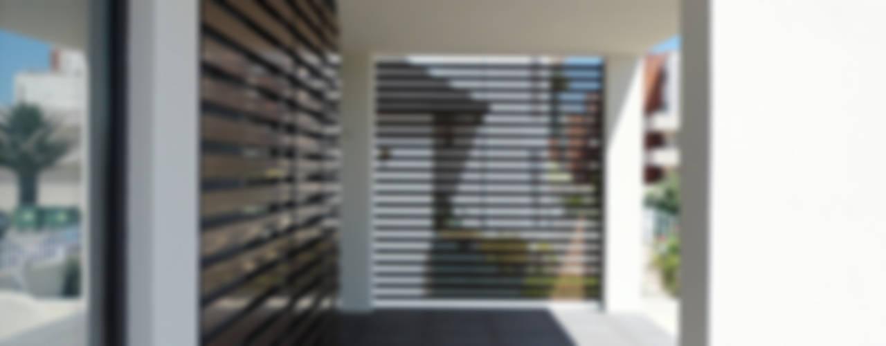 Eklektik Balkon, Veranda & Teras GAAPE - ARQUITECTURA, PLANEAMENTO E ENGENHARIA, LDA Eklektik