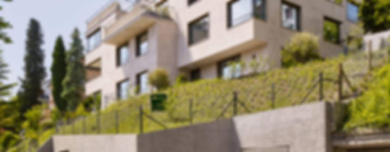 Projekty,  Domy zaprojektowane przez fiktiv Architektur GmbH