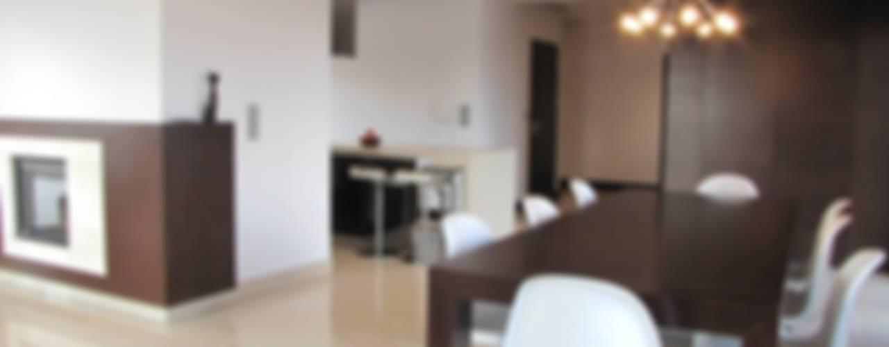 Minimalist dining room by Fabryka Wnętrz Minimalist
