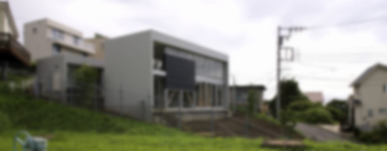 archi-scape モダンな 家 の 岡村泰之建築設計事務所 モダン