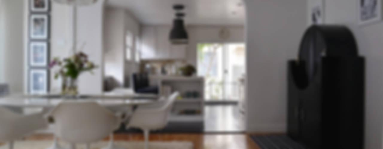 Ruang Makan Gaya Eklektik Oleh Erika Winters® Design Eklektik