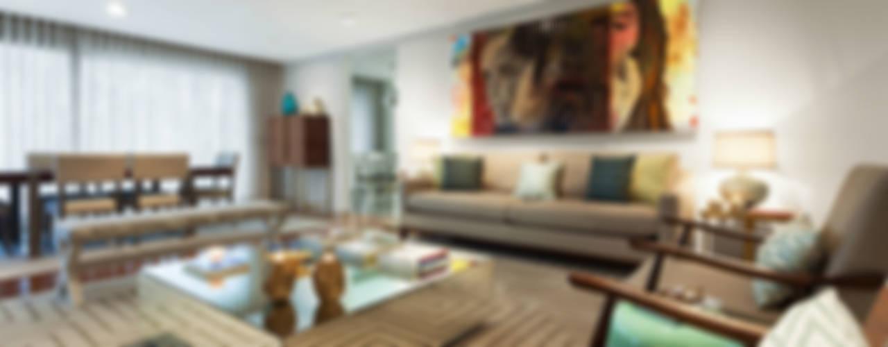 Salas de estar  por Ana Rita Soares- Design de Interiores
