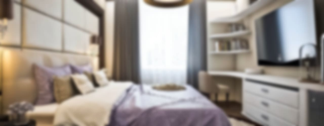 Яркие акценты современных квартир: Спальни в . Автор – STONE design