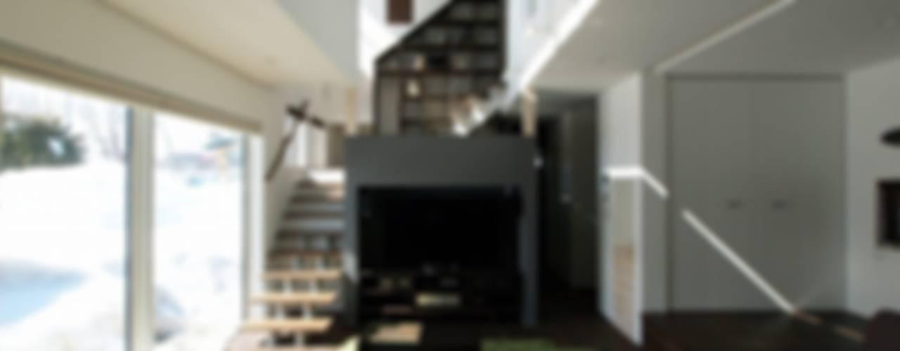 富谷洋介建築設計 ห้องนั่งเล่น