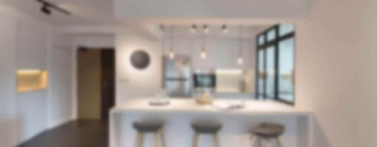 Cucina in stile in stile Moderno di Eightytwo Pte Ltd