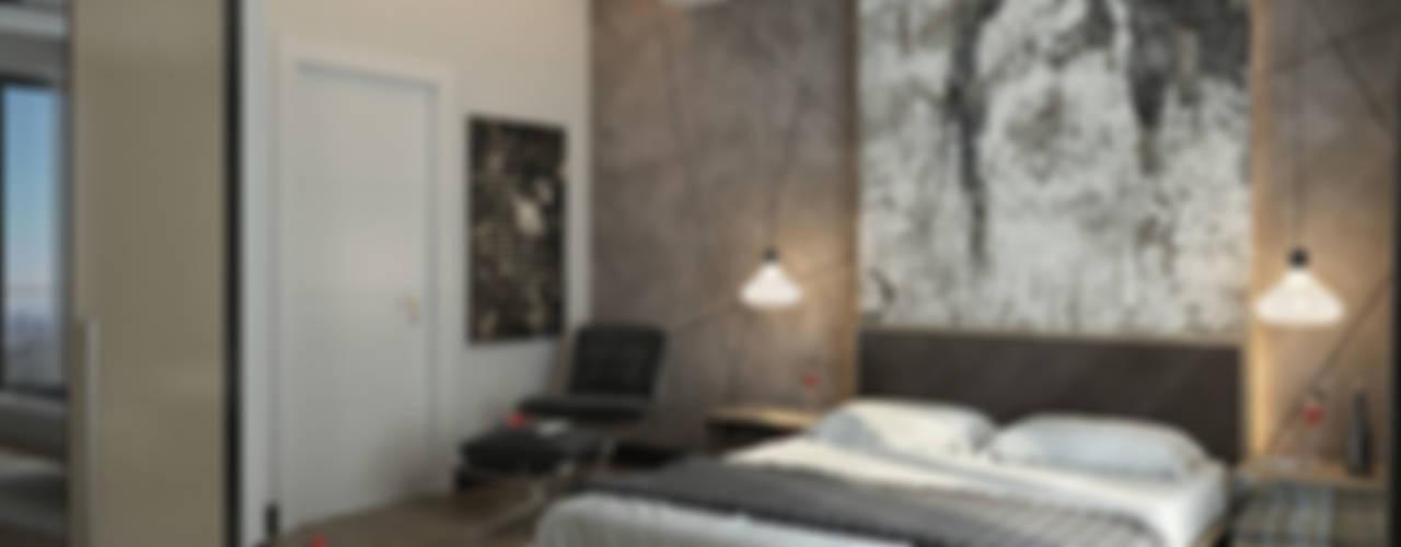 UYSAL RESIDENCE Modern Yatak Odası Çağrı Aytaş İç Mimarlık İnşaat Modern