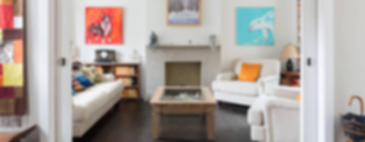 Green Retrofit, Lambourn Road Modern Oturma Odası Granit Architects Modern