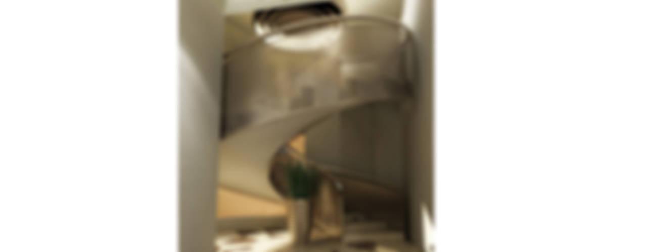 Ayaz Ergin İç Mimarlık Moderner Flur, Diele & Treppenhaus