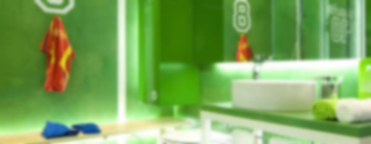 モダンスタイルの お風呂 の Egue y Seta モダン