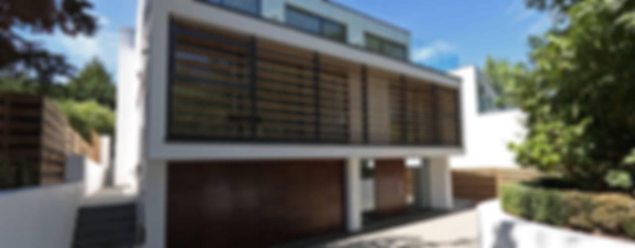 Greystones Nowoczesne domy od Nicolas Tye Architects Nowoczesny